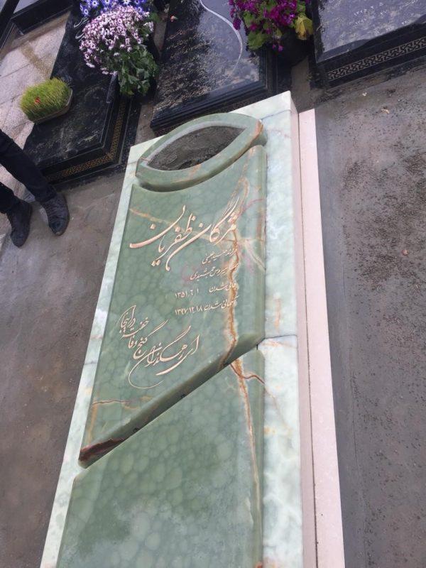 سنگ قبر مرمر سنگ قبر سفارشی سنگ قبر با استقامت بالا