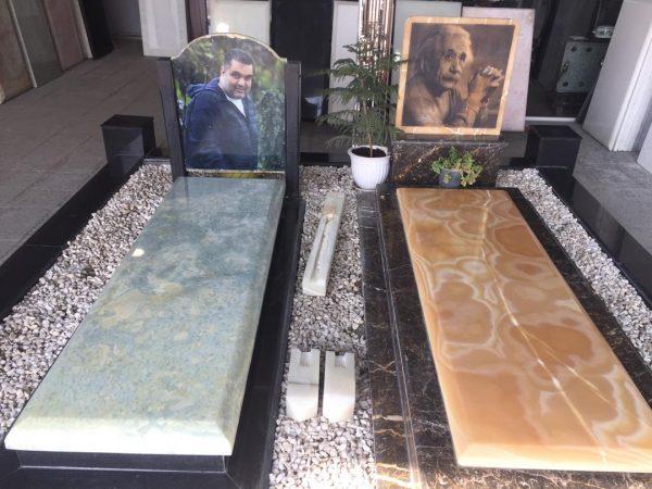 سنگ قبر مرمر سفید بهترین نوع سنگ قبر موجود در بازار