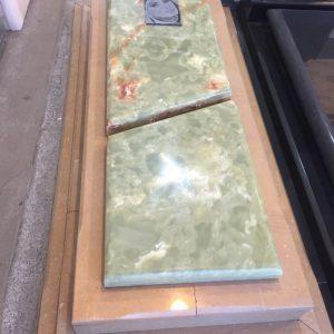 سنگ قبر مرمر سبز دارای مقاومت بالا