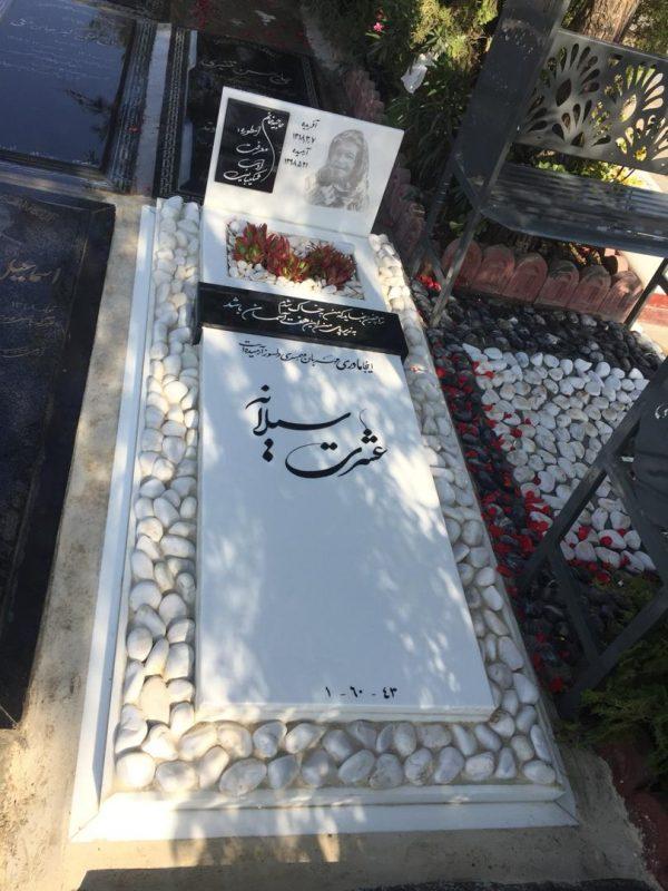 سنگ قبر مادر نمونه شماره 9