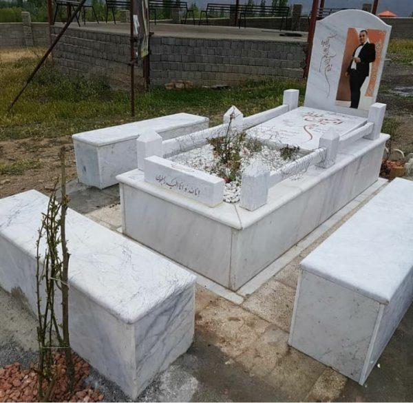 سنگ قبر پدر نمونه شماره 9