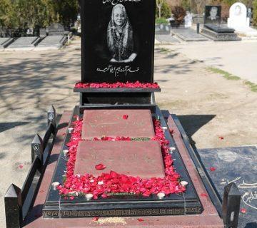 سنگ قبر خواهرسنگ مشهد