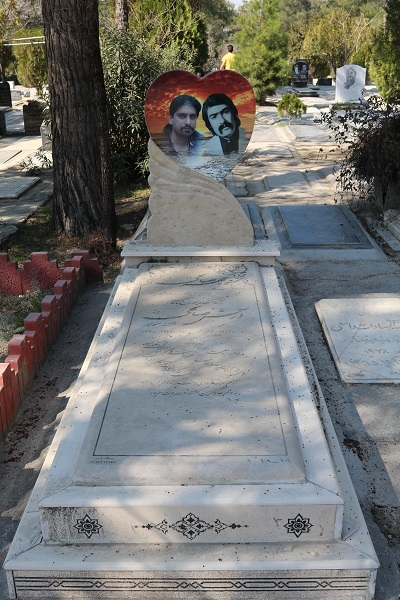 سنگ قبر کریستال قطر 4 سانت